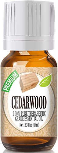 Cedarwood Essential Oil - 100% Pure Therapeutic Grade Cedarwood Oil - 10ml