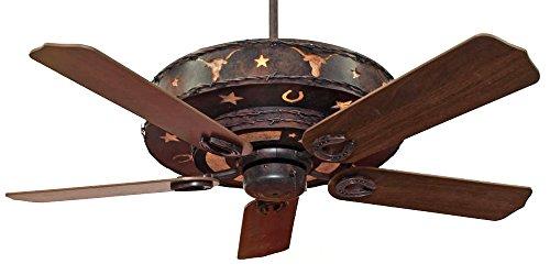 KIVA Western Longhorn Ceiling Fan