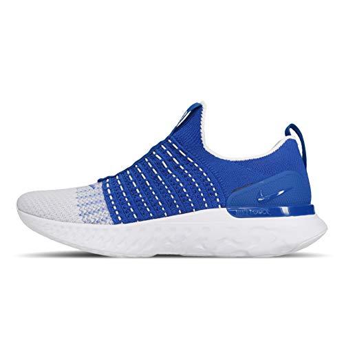 Nike React Phantom Run Fk 2 Cj0277-400 - Zapatillas de correr para hombre, azul (Racer azul/blanco), 41 EU