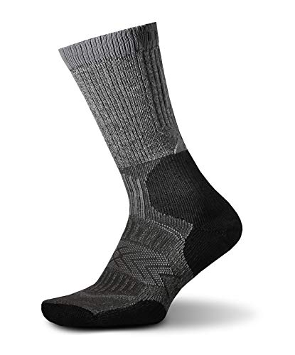 Thorlo Outdoor Fanatic Chaussettes Mixte Adulte, Silver Fox, FR : M (Taille Fabricant : M)