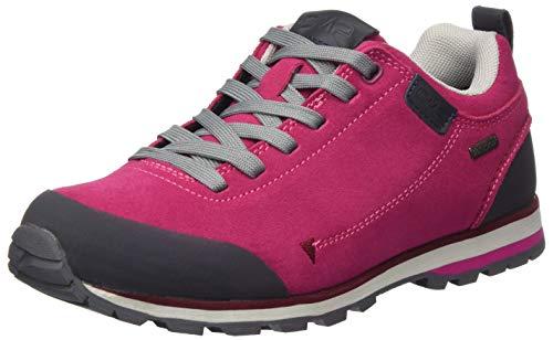 CMP – F.lli Campagnolo Damen Elettra Low Wmn Hiking Shoe Wp Trekking-& Wanderhalbschuhe, Pink (BOUGANVILLE H620), 38 EU