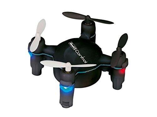 Revell Control RC Quadrocopter für Einsteiger, ferngesteuert mit 2,4 GHz Fernsteuerung, leicht zu fliegen durch 6-Axis-Stabilisierungssystem, Start- und Landefunktion, Höhensensor, NANO QUAD FUN 23888