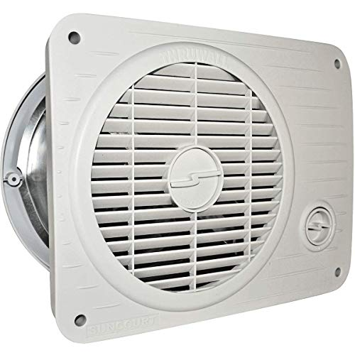 Suncourt Thru Wall Fan Hardwired Variable Speed