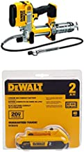 DEWALT DCGG571B 20-volt MAX Lithium Ion Tool Only Grease Gun with 20V 2.0Ah battery