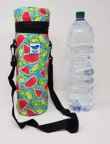 con tracolla Colore Giallo 33x25x11 cm ideale per bottiglie grandi BORSA TERMICA molto alta