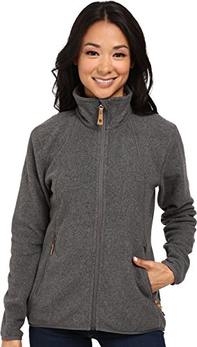 Fjällräven Damen Stina Fleece W Sweatshirt, Grau (Dark Grey 030), S