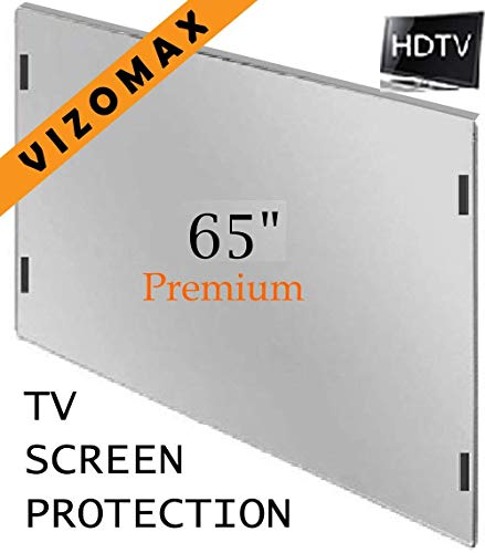 65 inch Vizomax TV Screen Protector for LCD, LED, OLED & QLED 4K HDTV Display