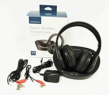 Insignia NS-WHP314 Wireless Bluetooth Lithium-Ion Over-Ear Headphone with Dock Charging Station  Non-Retail Packaging