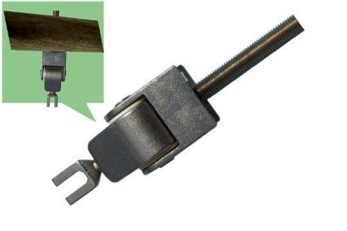 Loggyland Schaukelhaken Schaukelgelenk für Rundbalken M12x140mm