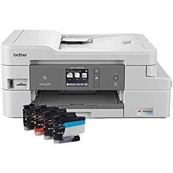 Brother MFC-J995DW INKvestmentTank Color Inkjet All-in-One Printer with Mobile Device and Duplex Printing, Up To 1-Year of Ink In-box, Amazon Dash Replenishment Ready