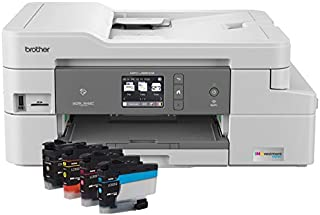 Brother MFC-J995DW INKvestmentTank Color Inkjet All-in-One Printer with Mobile Device and Duplex Printing, Up To 1-Year of...