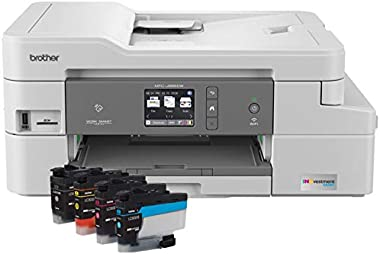 Brother MFC-J995DW INKvestmentTank Color Inkjet All-in-One Printer with Mobile Device and Duplex Printing, Up To 1-Year of In
