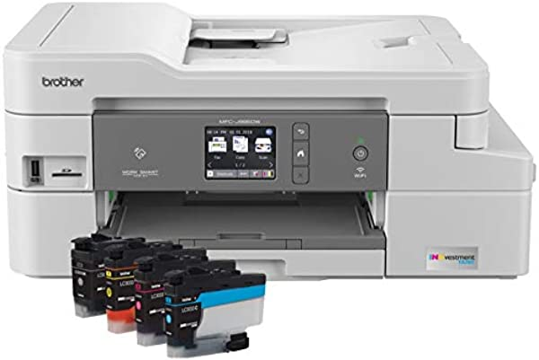 Brother MFC J995DW INKvestmentTank Color Inkjet All In One Printer With Mobile Device And Duplex Printing Up To 1 Year Of Ink In Box