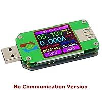 SSY-YU テスター マルチテスターUM24のためにAPP USB 2.0 LCDディスプレイ電圧計電流計バッテリ充電電圧電流計マルチケーブルテスターDIYやツールを測定します 電圧 電流