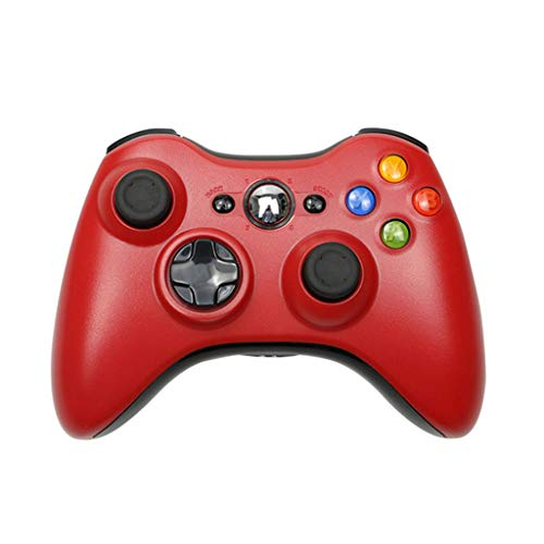 SOLEIWEI X-Box 360 2.4G Gamepad wireless con ricevitore PC Wireless Controller Console, adatto per XBOX360 videogiochi e computer