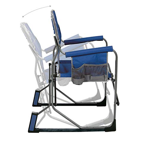 MacSports MacRocker Outdoor Foldable Rocking Chair | Portable, Collapsible, Springless Rockers with...