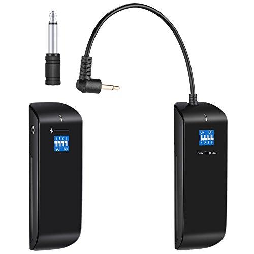 Neewer Estudio Flash Disparador Receptor Transmisor Set DE 16 Canales Inalámbrico 2.4G para Canon Nikon Sony Pentax Olympus DSLR y VISION4 VISION5 etc Strobe Monolight con Standard Sync Port(RC100)