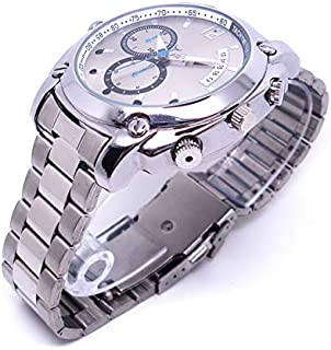 Reloj de ulsera con cámara Oculta espía HD 1080 Grabación de vídeo Oculto y Sonido Reloj Tradicional Profesional. Soporte Memoria 32gb