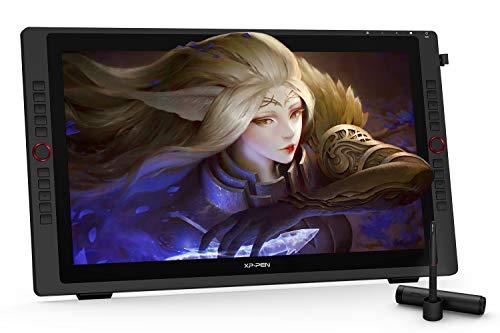 """XP-PEN Artist 24 Pro 23,8\"""" Grafiktablett mit Display 2K QHD Stift-Display mit 2 Einstellräder, 20 Tasten, 8192 Stufe Batteriefreies Stylus mit 60° Neigung"""