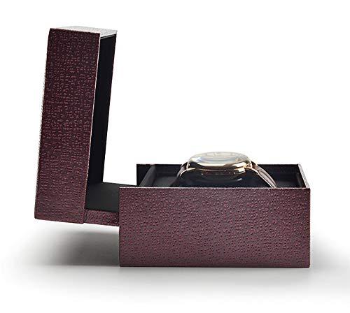 FGA Joyero Colección de Cajas de Reloj Caja de Regalo Pantalla de Reloj Marca de Tela de Seda Negra