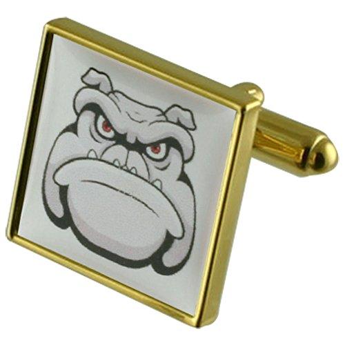 Cartoon Dog Manchette avec pochette cadeau sélectionner
