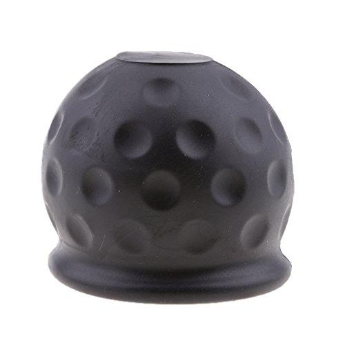 Tapa de Protector para Adaptarse Bola de Remolque para Automoviles, Negro 50mm