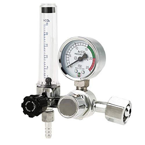 0-25 MPa Argon Mig Tig - Medidor de caudal de argón Mig Tig - Regulador del flujo de aire - Manómetro - Soldador - Piezas de gas - Reductor de soldadura - Accesorio para manómetro regulador G5/8