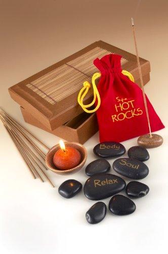 SPA pierres chaudes, bougies et encens en cadeau