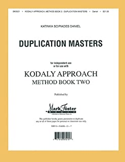 Kodaly Approach: Method Book Two - Transparencies