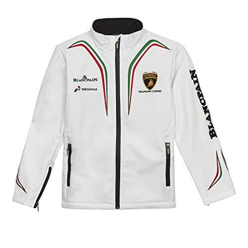 Lamborghini Squadra Corsa Kinder Softshell Jacke XS