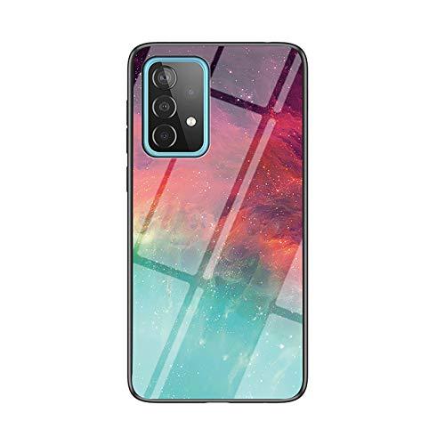 NEINEI Funda para Xiaomi Mi 10T Pro/10T,Carcasa Ultra-Delgado Ligera Anti-arañazos y Antideslizante Protectora Sedoso Caso,Diseño de Patrón de Cielo Estrellado Case Cover,TPU/PC-2