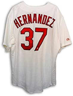 Keith Hernandez Autographed Jersey - St Louis Cardinals White Majestic Throwback - Autographed MLB Jerseys