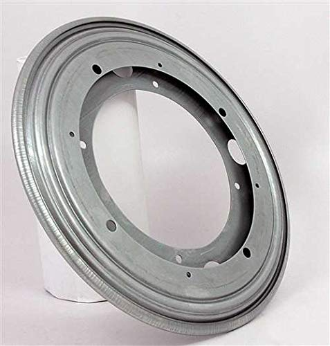 "VXB Brand 1000 lbs Capacity 12"" Lazy Susan Bearing 5/16 Thick Turntable Bearings Made in USA 1000 lbs. max 15"" inch to 30"" inch Turntable Diameter Zinc Plated"