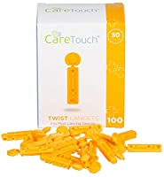 Care Touch Twist Top Lancets 30 Gauge, 100 Lancets by Care Touch