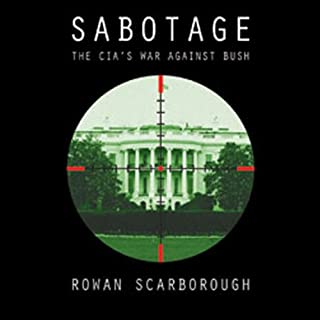 Sabotage audiobook cover art