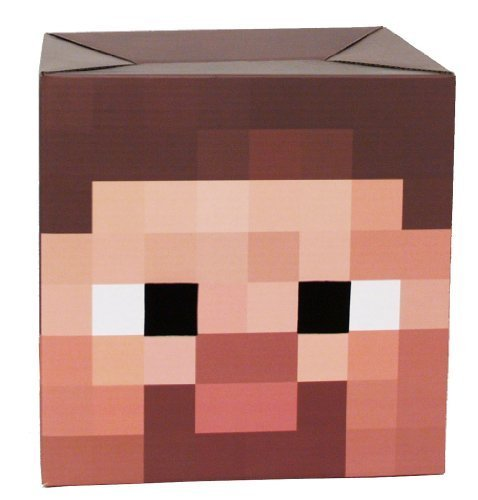 Minecraft Box Heads, Steve by Minecraft TOY (English Manual)