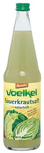Voelkel - Bio Sauerkrautsaft naturtrüb - MW 0,7l inkl. Pfand