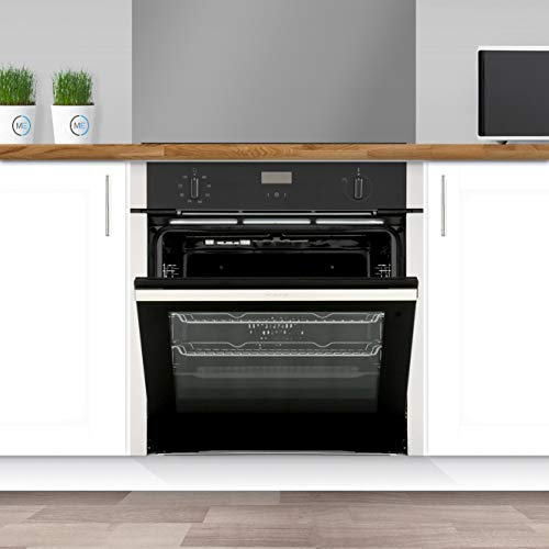 41Ix1nVoDFL. SS500  - Neff B4ACF1AN0B N50 Slide & Hide 6 Function Single Oven with Catalytic Cleaning - Stainless Steel