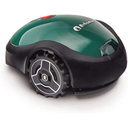 Robomow RX20 Battery Powered Mower-7-Inch Mowing Width-Smart Robot Lawn Mower for Small Yards, Green