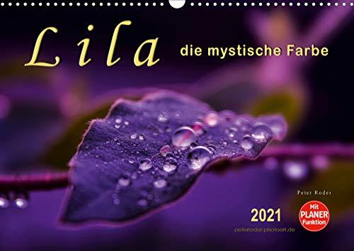 Lila - die mystische Farbe (Wandkalender 2021 DIN A3 quer)