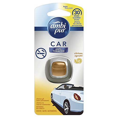 Ambi Pur Car Ambientador Desechable Anti-Tabaco - 125 gr