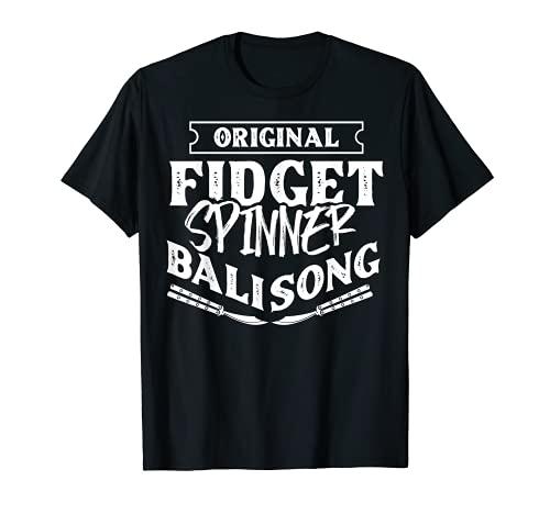 Original Fidget Spinner regalo mariposa cuchillo entrenamiento Camiseta