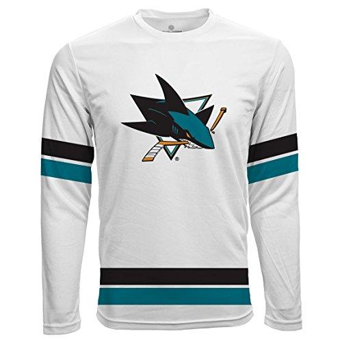 Levelwear San Jose Sharks Scrimmage LS NHL Fantrikot, L