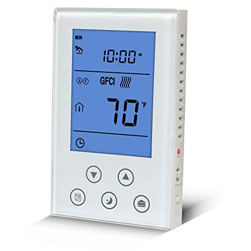Programmable Thermostat For Radiant Underfloor Heating