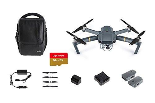 DJI Mavic Pro Fly più drone–grigio + micro SD memory card