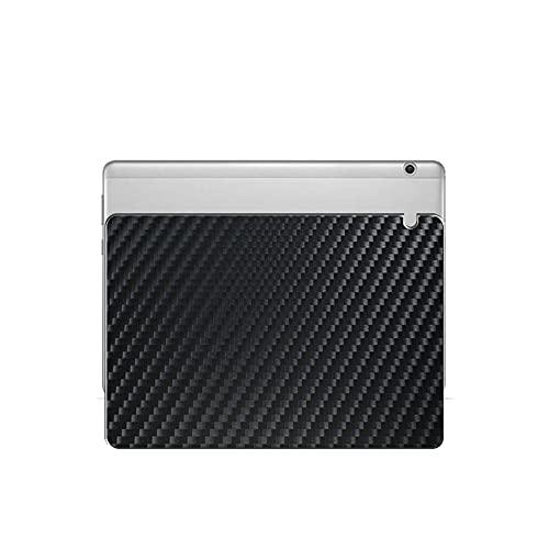 """Vaxson 2 Stück Rückseite Schutzfolie, kompatibel mit HUAWEI MediaPad M3 Lite 10.0 10"""", Schwarz Backcover Skin Cover [nicht Displayschutzfolie Hülle Case ]"""