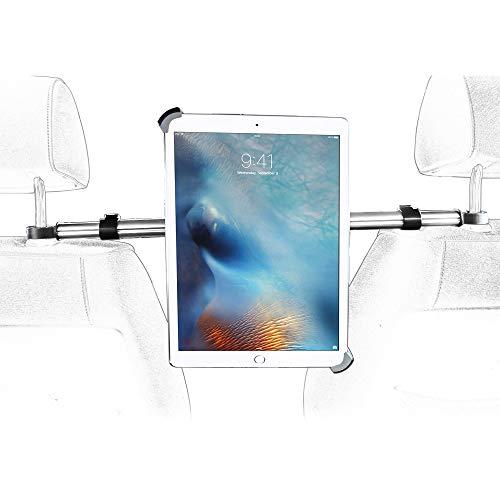 woleyi Supporto Auto per iPad, Universale Porta Poggiatesta Auto Tablet per iPad Pro Air 12.9 10.5 9.7 iPad 2019 2018 2017 e altri 9,5 -14,5  Tablet