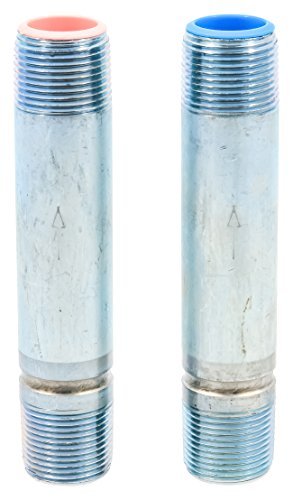 """Camco 01033 5"""" Dielectric Water Heater Heat Trap, Pack of 2"""