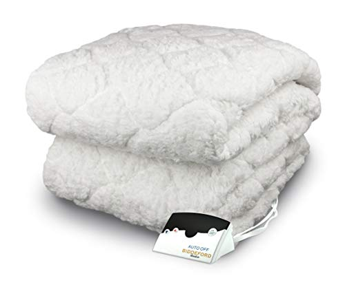 Biddeford 5301-9051128-100 Sherpa Quilted Skirt Electric...