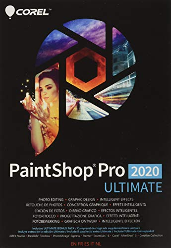 Corel PaintShop Pro 2020 Ultimate - Photo Editing and Graphic Design...